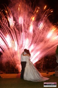 Breath-taking Wedding Fireworks for your big day.