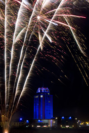 Corporate Firework Displays for grand openings.