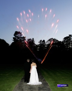 Professional Fireworks - Lower Noise Displays for weddings and special occasions.
