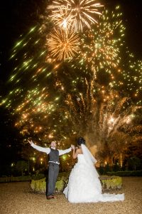 Wedding fireworks displays for your special day