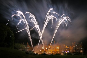 Wedding Fireworks at The Welcome Hotel, Stratford-upon-Avon.