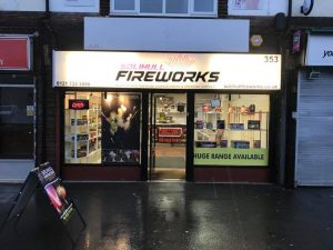 Solihull Fireworks Shop